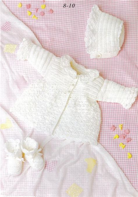 Patons A New Baby Knit Crochet Pattern Book 370