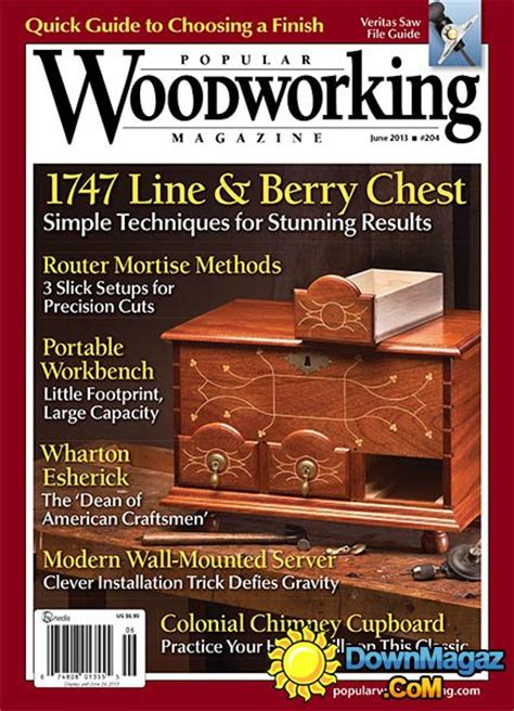 popular woodworking books popular woodworking 204 june 2013 187 pdf