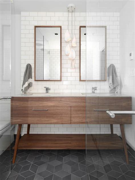 modern bathroom floors beatty st loft cube tile floor charcoal floor mid