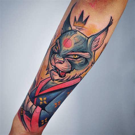 custom lynx samurai yeahtattoos com