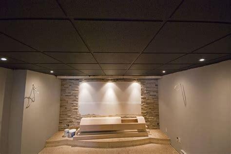 painting acoustic ceiling tiles painted basement ceiling tiles interior diy