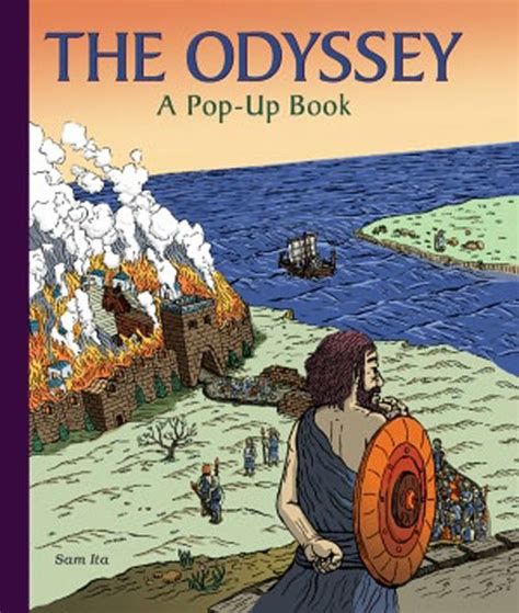 the odyssey picture book the odyssey a pop up book by sam ita 187 bellissima
