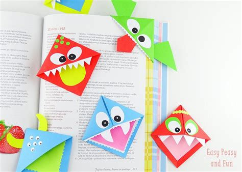 bookmark origami 20 and easy origami for easy peasy and