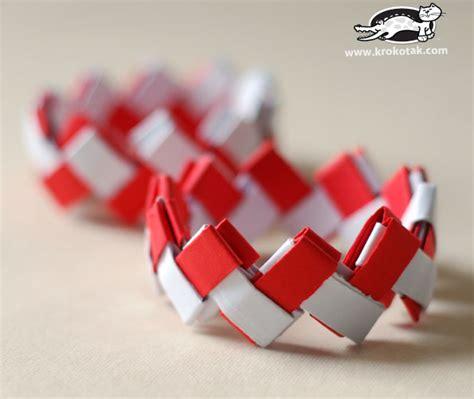 origami bracelet krokotak paper bracelet origami