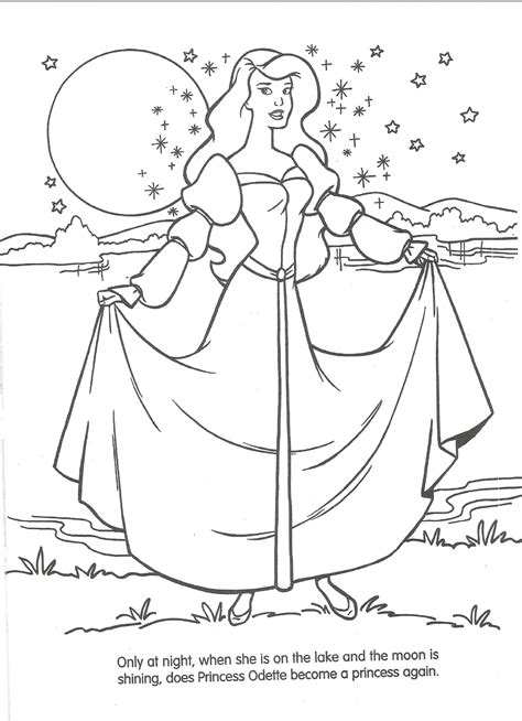 image swan princess official coloring page 12 png
