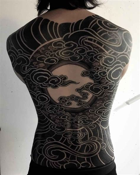 black sky tattoo on back best tattoo ideas gallery