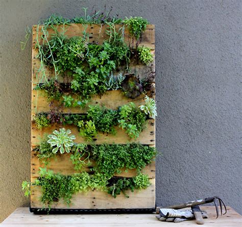 garden wall planter upcycle anything into a planter