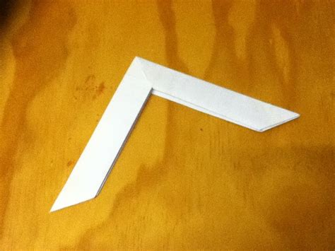 How To Make A Paper Boomerang An Origami Boomerang