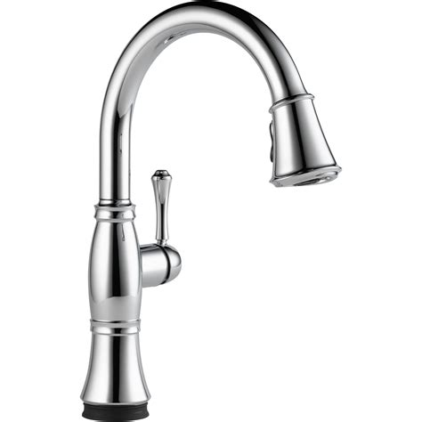 delta kitchen faucet single handle the cassidy single handle pull kitchen faucet with