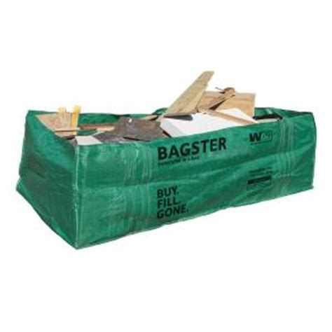 tree removal bag home depot wm bagster dumpster in a bag 775 658 the home depot