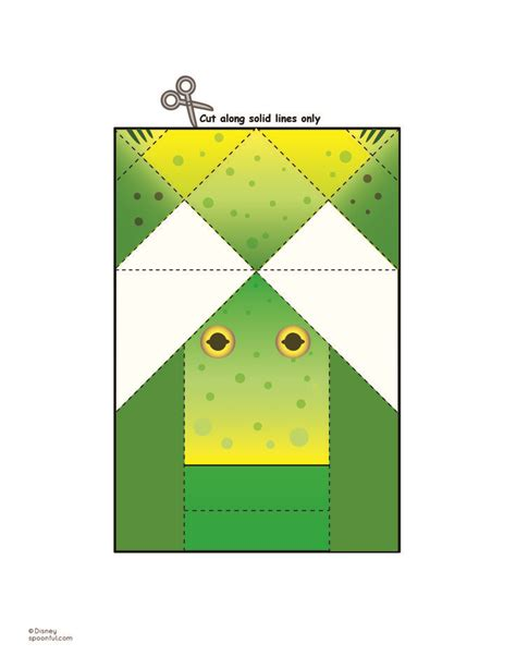 origami frog printable 10 images about coloring book on reading
