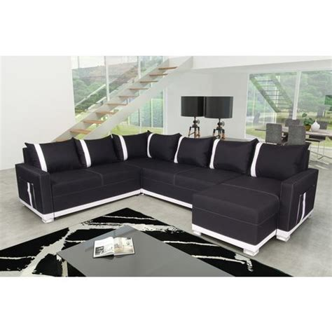 sofa story canap 233 d angle convertible pieds leds