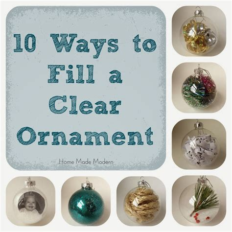 clear ornaments craft ideas home made modern how to make personalized ornaments