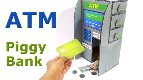 how do banks make money from debit cards how to make atm piggy bank for