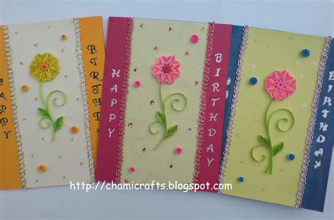 how to make different greeting cards chami crafts handmade greeting cards one design with