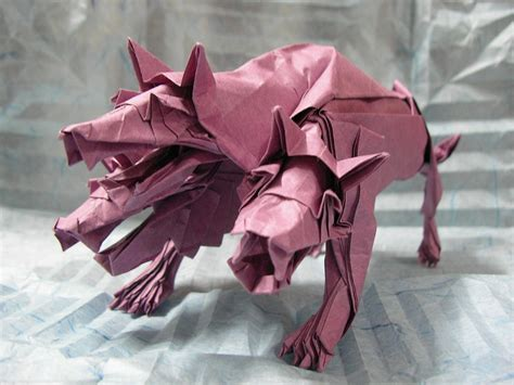 origami cerberus mythology brought to through some