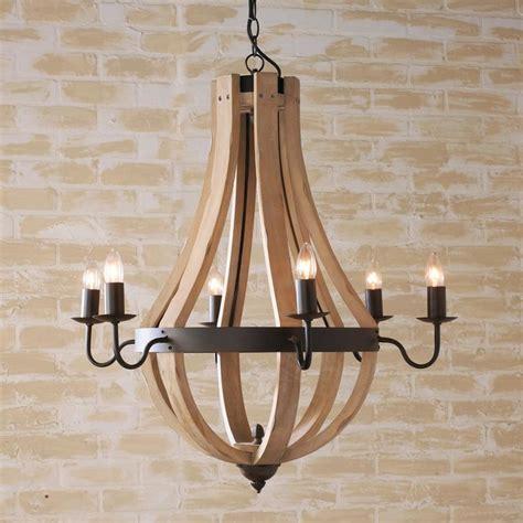 wine barrel stave chandelier wooden wine barrel stave chandelier chandeliers by