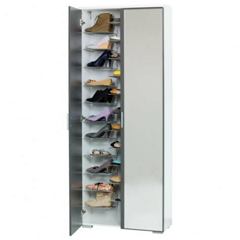 shoe cabinet with mirror shoe cabinet with mirror front for a chic floor design