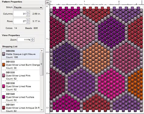 how to do peyote stitch beading imaginesque beading peyote stitch pattern 8 patchwork