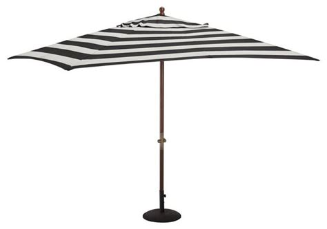 black and white patio umbrella sunbrella rectangular umbrella awning stripe black