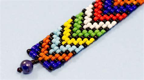 how to make beaded bracelets on a loom diy bead loom bracelet