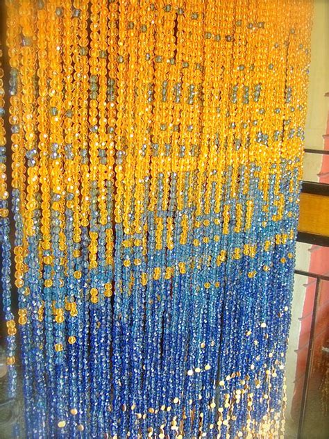 gold beaded curtains chagne pinkblue gold acrylic bead curtain
