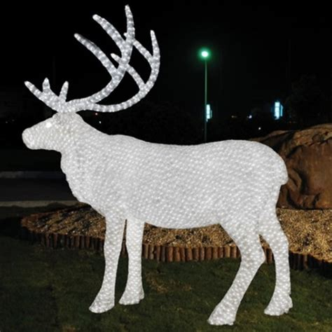 light up reindeer outdoor decoration custom outdoor decoration light animal shaped 3d led