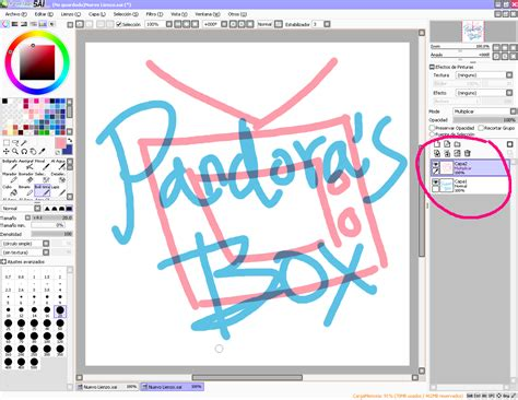 paint tool sai idws pandora s box turtorial 1 paint tool sai b 225 sico