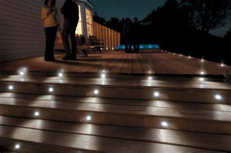 solar lights for stairs paradise six 12 volt led deck and stair light kit