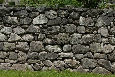garden wall stones free photo wall wall garden nature free image