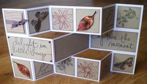 folding card ideas beccy s place tutorial tri shutter card