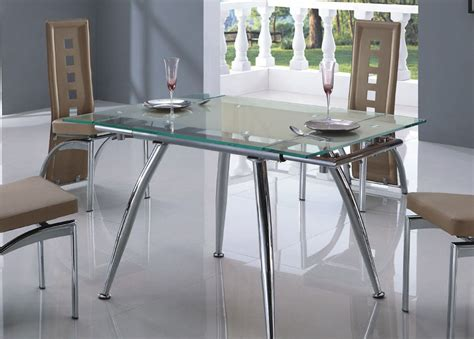 glass tables for kitchen glass kitchen tables and chairs marceladick