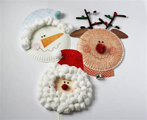 santa paper crafts santa claus crafts