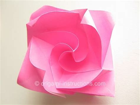origami roses easy pin by rinehart on origami