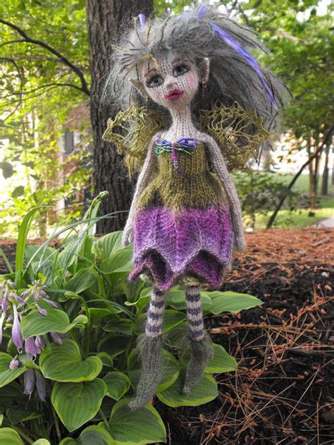 fairytale knitting patterns 17 best images about knitted fairys on flower