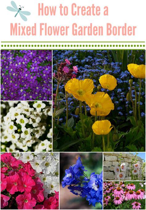 how to create a flower garden how to create a balanced mixed flower garden border