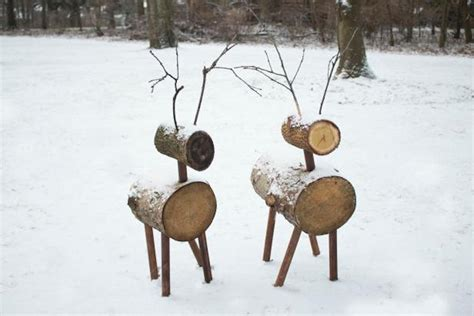 reindeer lawn ornament how to make reindeer lawn ornaments simplemost