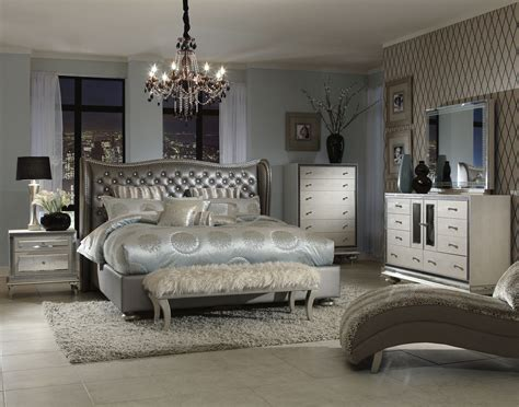 aico bedroom set aico swank upholstered bedroom set