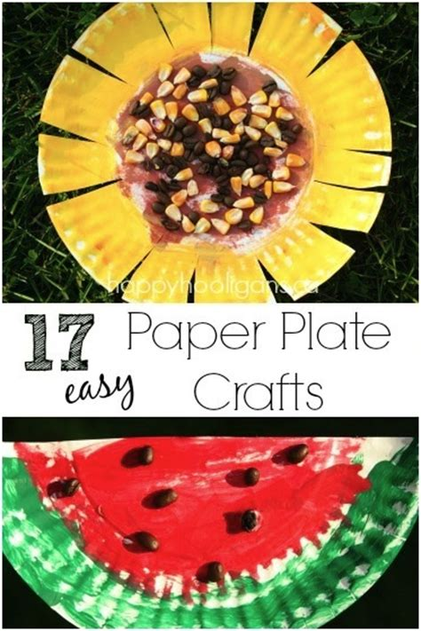 easy paper plate crafts for 17 easy paper plate crafts for happy hooligans