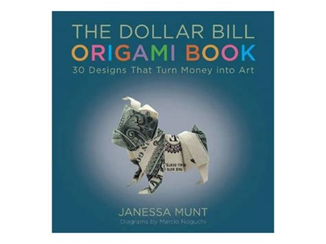 dollar origami book 2pk books dollar bill origami origami home kitchen