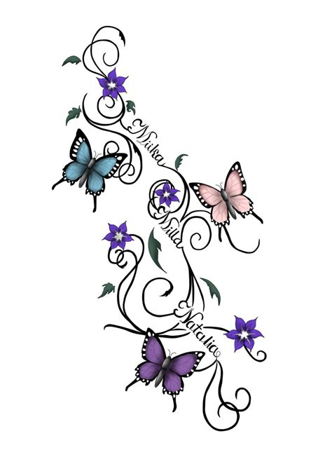 star and flower tattoo designs cliparts co