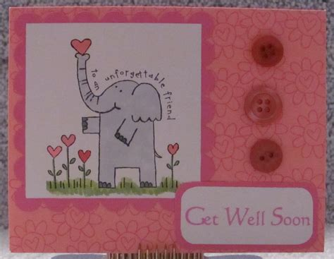 get well soon card ideas for children to make get well soon adorable elephant a2 greeting card 6