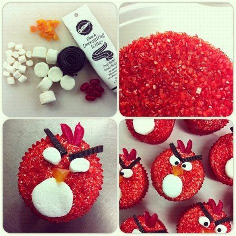 cool craft ideas angry birds cupcakes angry birds and birds on