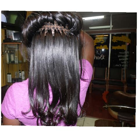 beaded braidless sew in sew in beaded sew in keratin keratin beaded sew in