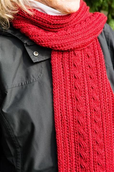 reversible cable scarf knitting pattern reversible cable scarf knitting patterns and crochet