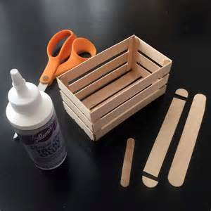 Craft Stick Crate Projects For