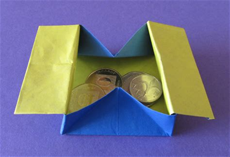 origami collapsible box how to make a collapsible box or coin purse