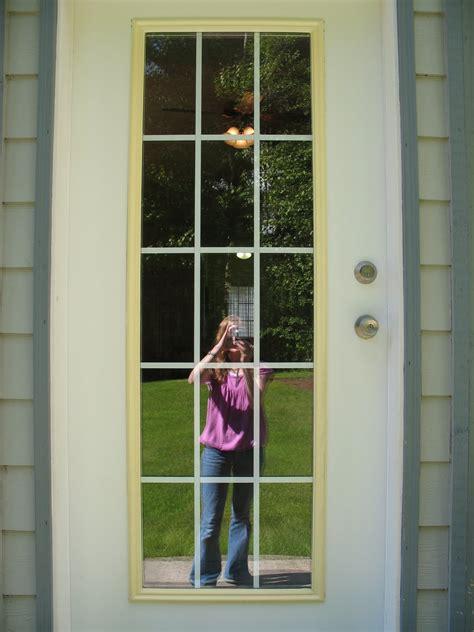 spray paint exterior door remodelaholic spray painted window trim on exterior door