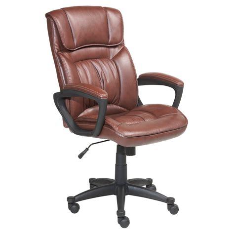 executive office chair leather serta puresoft faux leather executive office chair