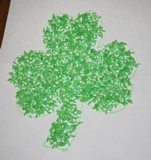 green crafts st s day crafts all network